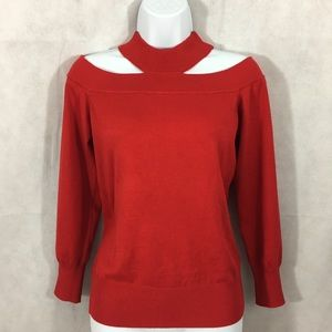 STYLEWE/ Masked Queen NWT red choker sweater sexy